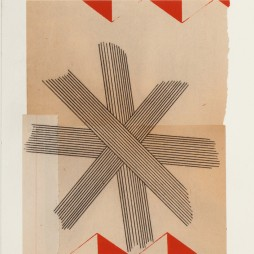 Immersion Series II, no.4 - monoprint on paper, 18 x 14 inch paper size (10 x 8 image) 2012