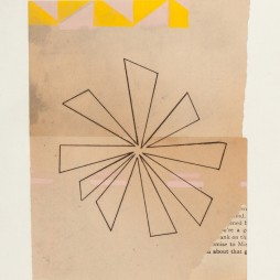 Immersion Series III, no.2 - monoprint on paper, 18 x 14 inch paper size (10 x 8 image) 2012