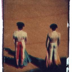 Untitled – bullfighters - polaroid transfer, Madrid, 2004