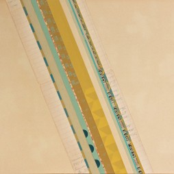 Float - mixed media collage on panel, 24 x 18 inches, 2010