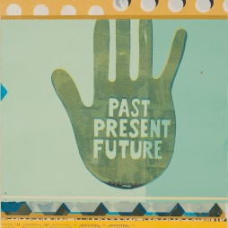Past, Present, Future no.6 - mixed media collage on panel, 2009 // SOLD