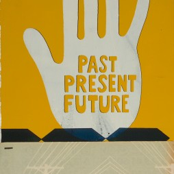 Past, Present, Future no.2 - mixed media collage on panel, 14.5 x 9.25 inches, 2008 // SOLD