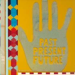 Past, Present, Future no.3 - mixed media collage on panel, 19 x 25 inches, 2008 // SOLD