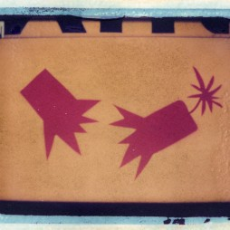 Untitled – fireworks - polaroid transfer, Texas, 2005