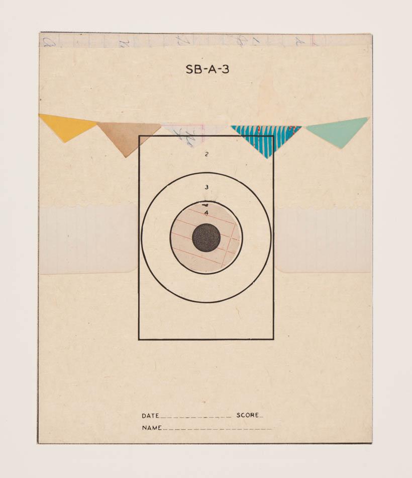 Reveille Series, no.1 - monoprint on paper, 2012