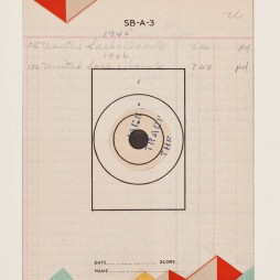 Reveille Sereis, no.7 - monoprint on paper, 2012